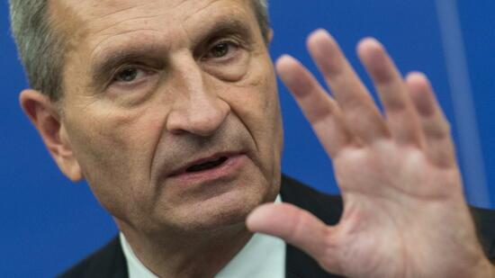Oettinger: Briten werden auch nach Brexit zahlen