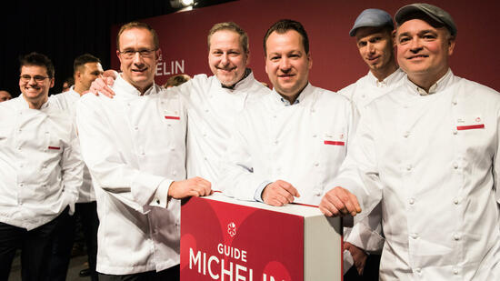 """Guide Michelin"" in Potsdam"