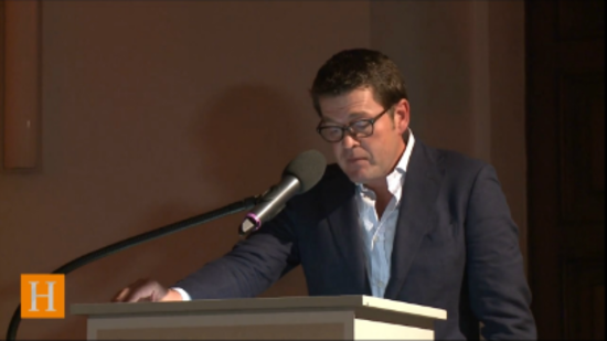 "Guttenberg-Rede im Video: ""The world wants to understand how Germany ticks"""