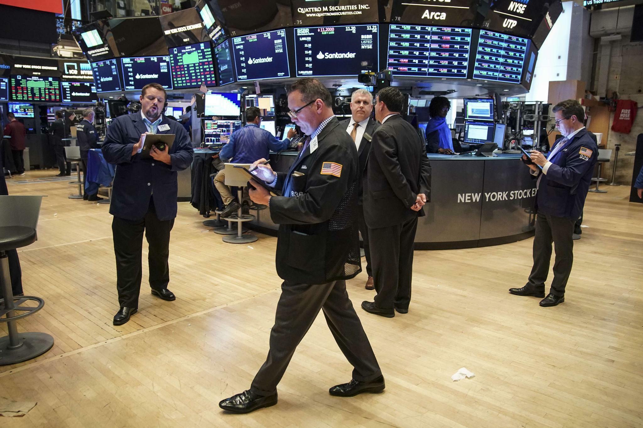 Schwache China-Daten drücken Wall Street ins Minus