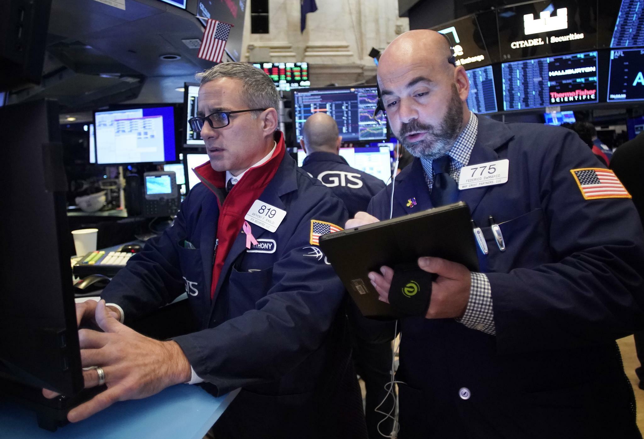 Pessimistische Prognosen drücken Dow nach Rekordhoch ins Minus
