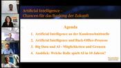 Künstliche Intelligenz bei Finanzdienstleistungen: Handelsblatt Webinar – Wie viel Science-Fiction heute schon in Banken steckt