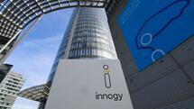 The headquarter building of the German energy company innogy SE is pictured on March 12, 2018 in Essen, western Germany. The German energy company RWE announced on March 11, 2018 its intention to sell most of its subsidiary innogy to its competitor EON in a large operation worth more than 20 billion euros. / AFP PHOTO / Patrik STOLLARZ Quelle: AFP