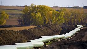 Baustelle der Keystone-Pipeline in North Dakota. Quelle: Reuters