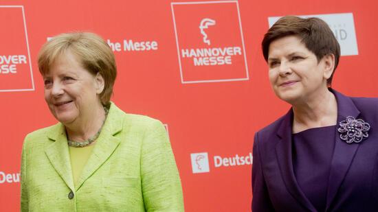 Hannover Messe: Merkels Appell für freien Welthandel