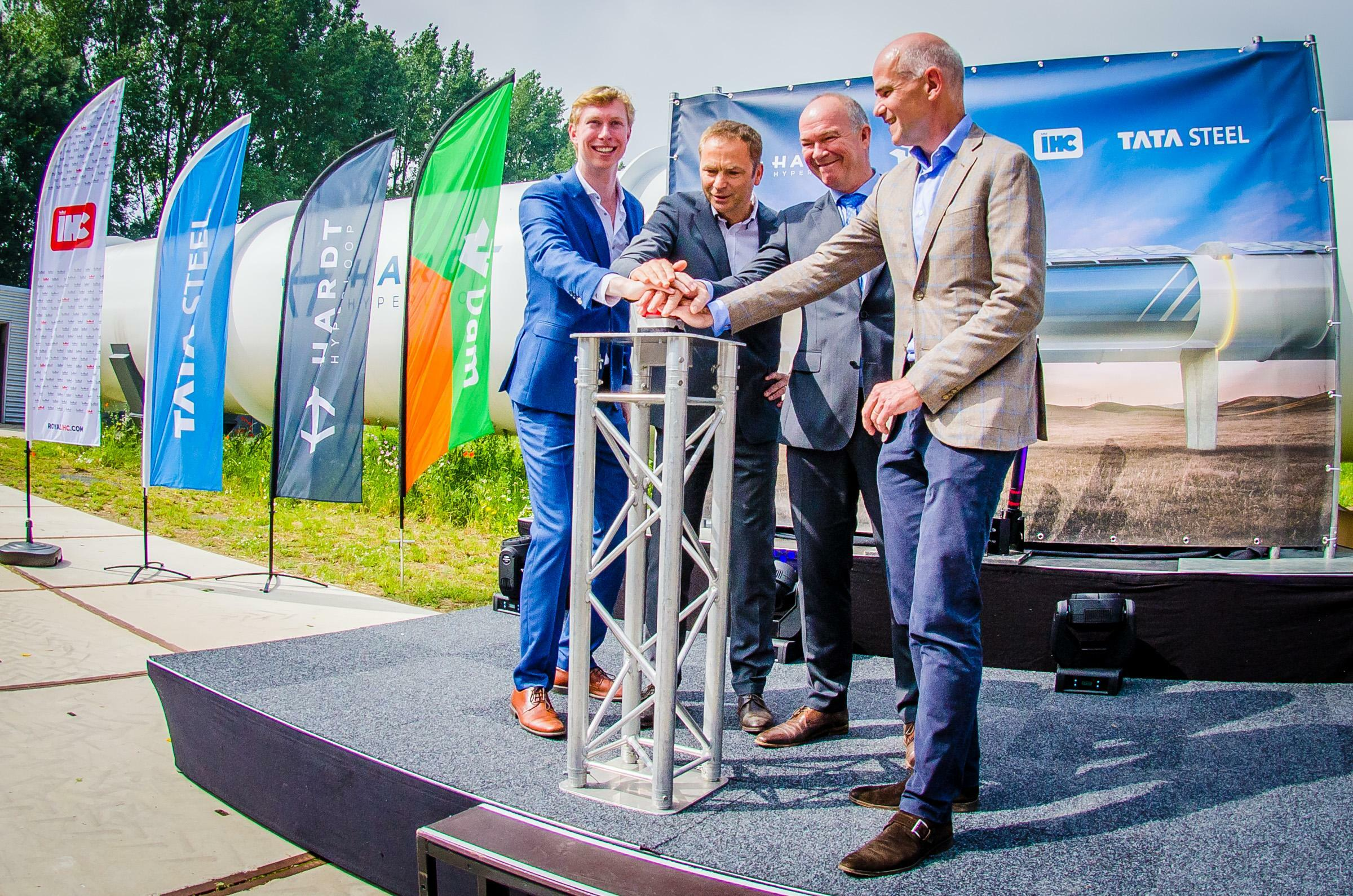 Frank Thelen finanziert Hyperloop-Projekt Hardt mit