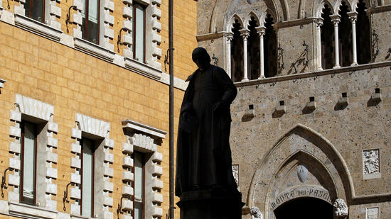 Krisenbank Monte dei Paschi erhält 5,4 Milliarden Euro vom Staat