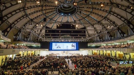 Hauptversammlung der Deutschen Bank: Abstimmung über Achleitner