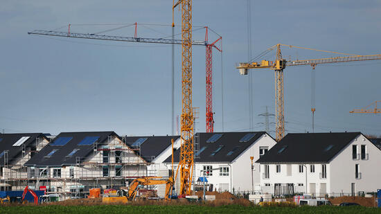 Deutlich weniger Baugenehmigungen für Wohnungen