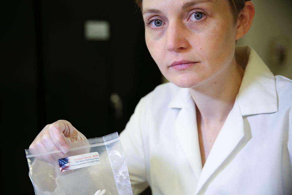 """Heather Dewey-Hagborg: """"Keine Daten sind mehrdeutiger als die DNA"""""""