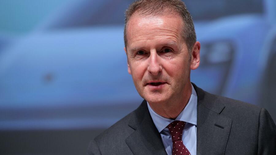 VW: US-Behörden versprechen Diess freies Geleit