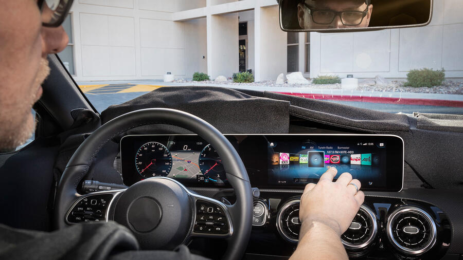 Knight Rider: Hey, Mercedes now has a touchscreen, voice-controlled