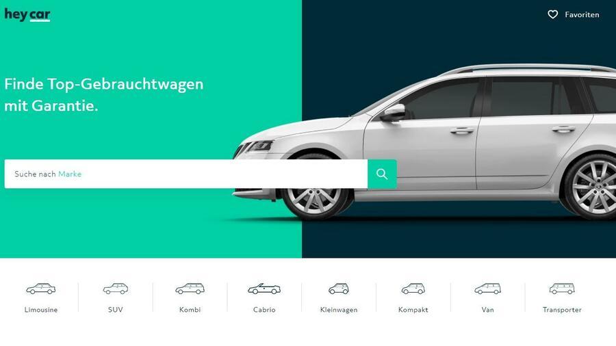 Vw Fordert Mit Heycar Autoscout24 Und Mobilede Heraus