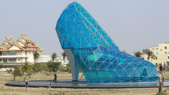 High-Heel-Gotteshaus in Taiwan