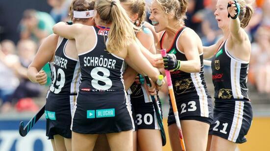 Hockey: Hockey-Damen gegen Belgien im EM-Halbfinale