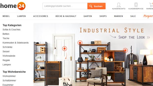 online handel home24 er ffnet neues lager. Black Bedroom Furniture Sets. Home Design Ideas
