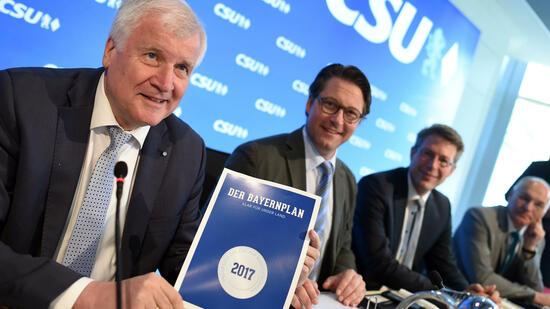 Die Obergrenze ist und bleibt ein Ziel der CSU