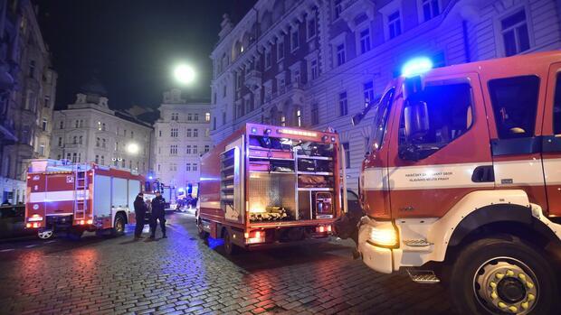 Deutscher unter den Opfern: Vier Tote nach Hotelbrand in Prag