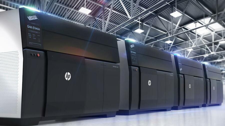 3d Metall Drucker Hp Revolutioniert Industrie Lieferketten