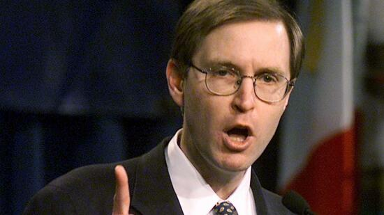 Glenn Hubbard is a senior economic advisor to Governor Mitt Romney. Quelle: ap