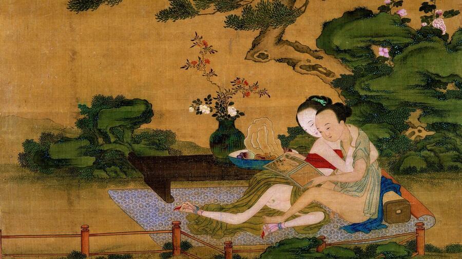 Chinesische Erotik Aktmalerei Erotische Werke Akt eBay