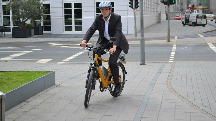 e bike test delite hybrid 500 hs der cup renner. Black Bedroom Furniture Sets. Home Design Ideas