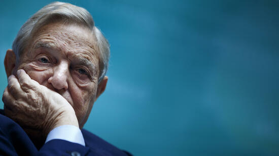 Milliardär George Soros. Quelle: AFP