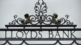 Ein Firmenschild der Lloyds Bank in London. Quelle: AFP
