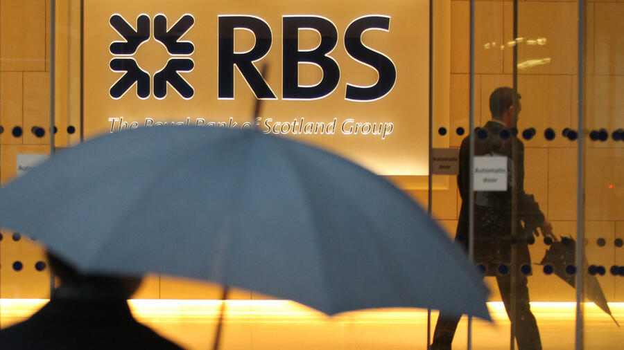 Eine Filiale der Royal Bank of Scotland in London. Quelle: AFP