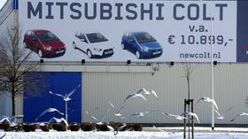 Das Mitsubishi Werk in Born. Quelle: AFP