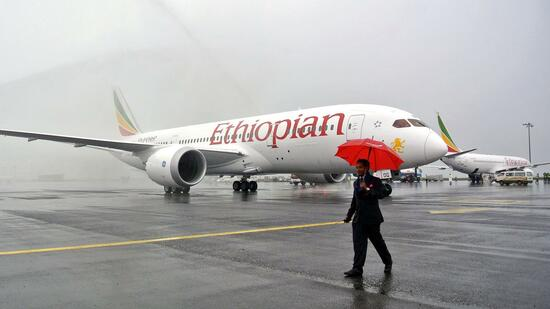 Außer Ethiopian Airlines besitzen derzeit nur zwei japanische Fluggesellschaften die Maschine, Japan Airlines und All Nippon Airways. Quelle: AFP