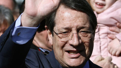 Nicos Anastasiades: Der konservative Politiker war als Favorit in den Wahltag gegangen. Quelle: AFP