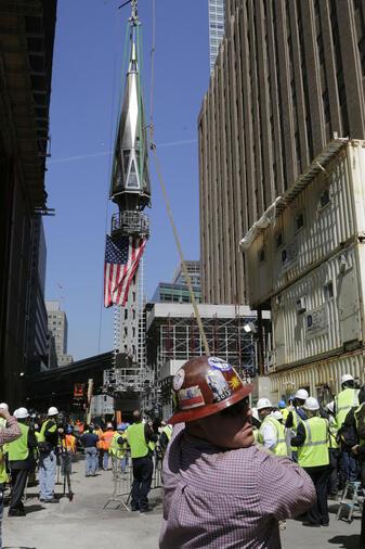 """In New Yorks """"One World Trade Center"""" gibt's jetzt einen Grad-Blick aus Metern Höhe. Zehn weitere Plattformen rund um den Globus toppen das """"One World Observatory"""" allerdings um."""