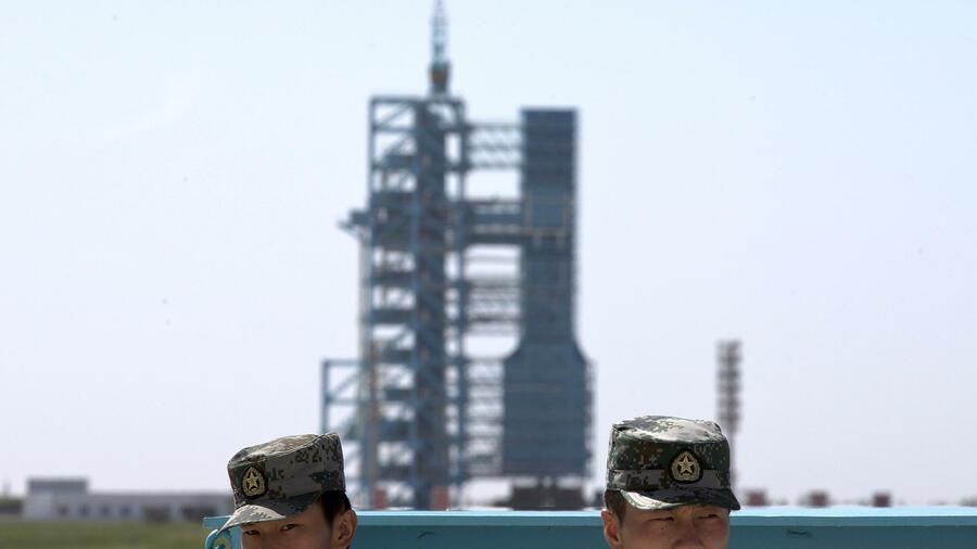 China trainiert für die eigene Raumstation