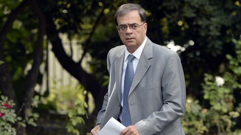 Ihn dürfte die harte Linie der EU nicht gerade ansprechen, doch in der Sache geht er d´accord: Der griechische Finanzminister Gikas Hardouvelis will die Verschuldung seines Landes sukzessive abbauen. Quelle: AFP