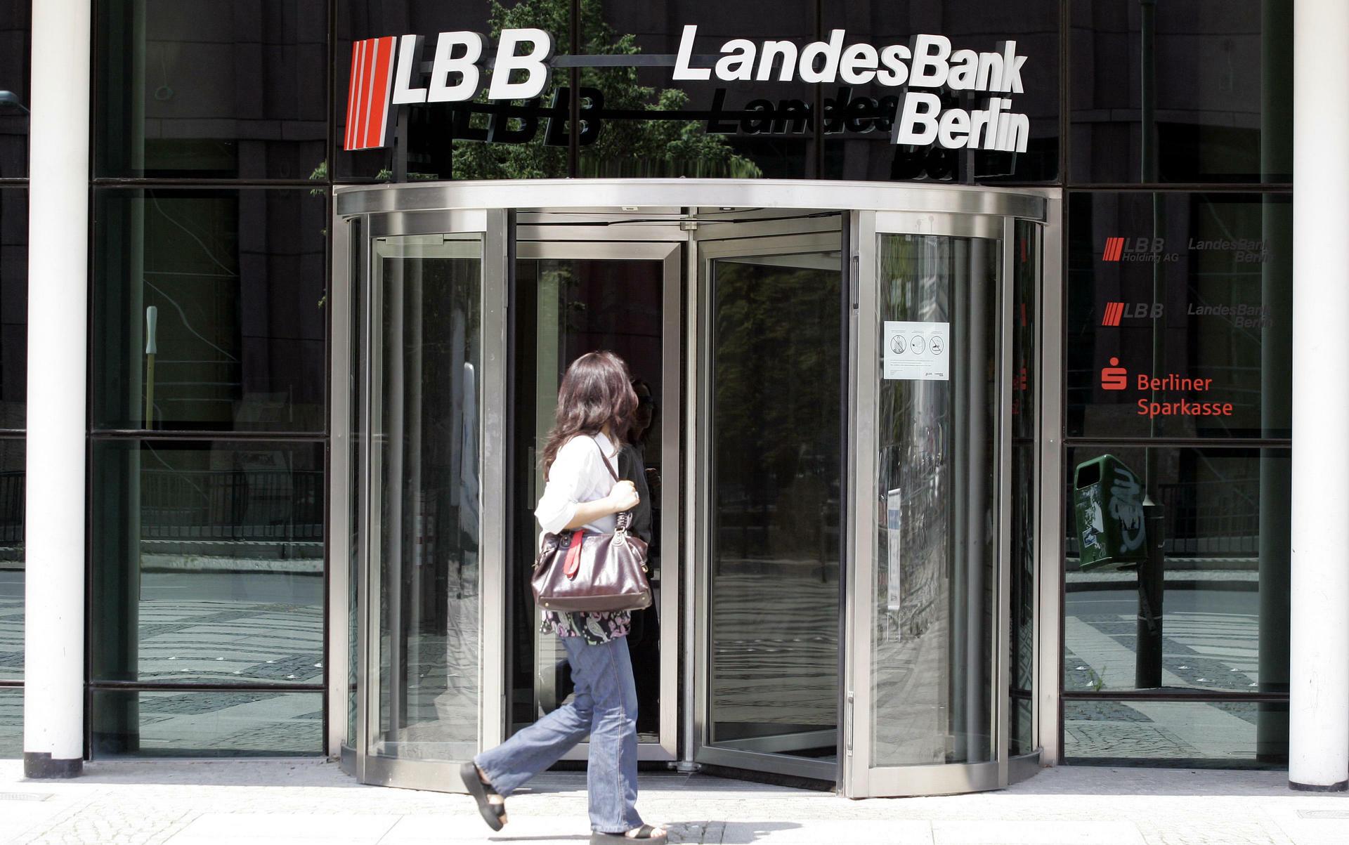 """LBB wird zur """"Berliner Sparkasse"""" Landesbank legt auch ihren Namen ab"""