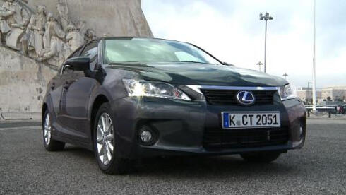 Testfahrt-Video: Hybridtechnik in der Kompaktklasse - Lexus CT200h