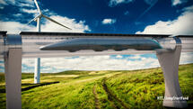 Neue Partnerschaft: Munich Re will Hyperloop versichern
