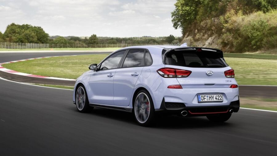 In der Basisversion leistet der Hyundai i30 N 250 PS Quelle: Hyundai