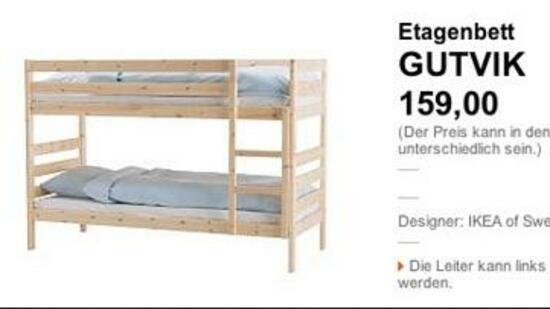 """Ikea Kinderzimmer Dekoration ~ Ikea und seine Patzer Wenn das Kinderbett """"Gutvik"""" heißt"""