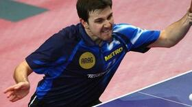 Im Viertelfinale: Timo Boll. Foto: Bongarts/Getty Images Quelle: SID