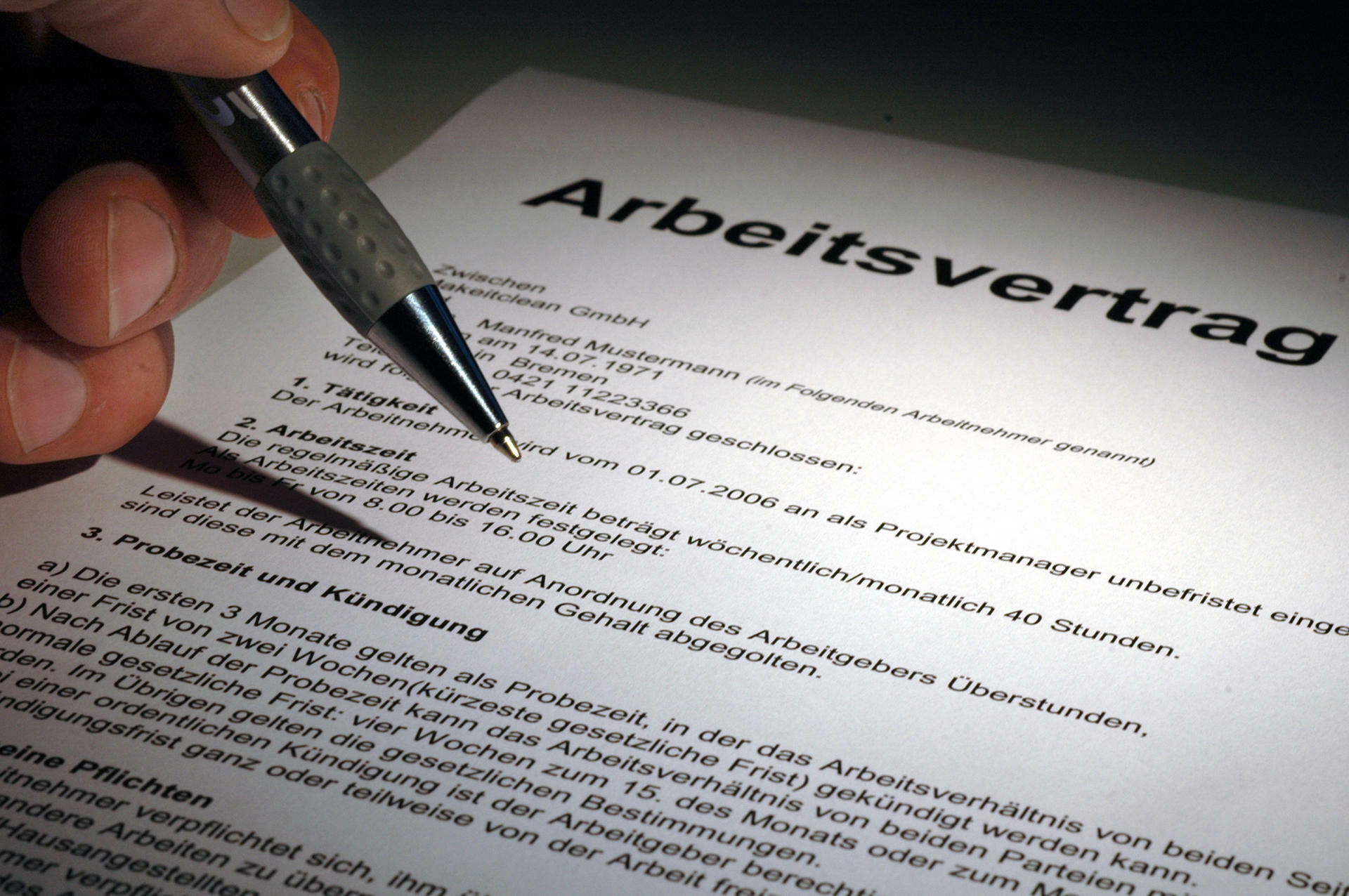 Vertragsänderungen Die Zehn Größten Risiken Bei Der Versetzung