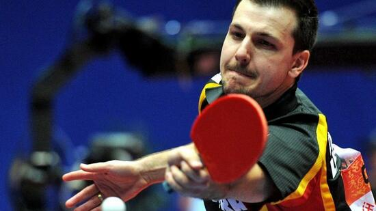 In Bamberg zu Gast: Timo Boll und Co. Quelle: SID