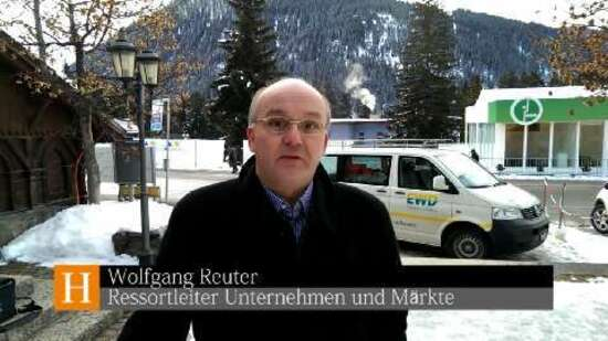 Inside Davos: Schlanker Ackermann und Burda-Party