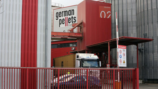 Insolvenz bei German Pellets