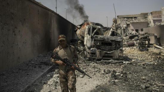 In befreiter Stadt Mossul: Irakische Streitkräfte sollen fünf deutsche IS