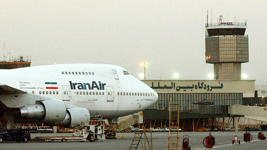 Iran-Air-Maschine in Teheran