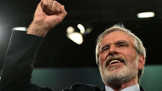 Sinn-Fein-Chef Adams gibt nach 35 Jahren Parteivorsitz in Irland ab