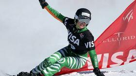 Isabella Laböck schafft in Telluride die Olympia-Norm. Foto: Bongarts/Getty Images Quelle: SID