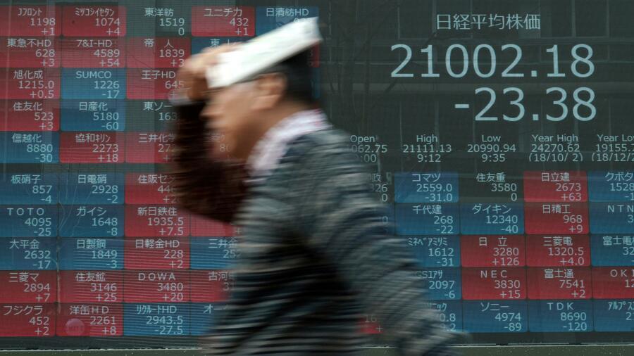 Aktienmarkt in Tokio gibt vor US-Zinssitzung nach
